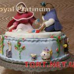 Торт Красавица и Чудовище_1