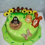 Торт Крот и друзья_1