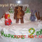 Торт Маша и медведь_10