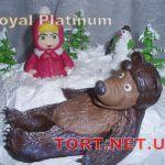 Торт Маша и медведь_13