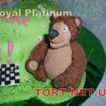 Торт Маша и медведь_16