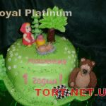 Торт Маша и медведь_17