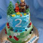 Торт Маша и медведь_1
