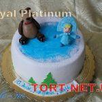 Торт Маша и медведь_21