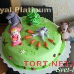 Торт Маша и медведь_22