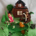 Торт Маша и медведь_24