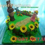 Торт Маша и медведь_2