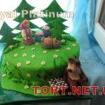 Торт Маша и медведь_3