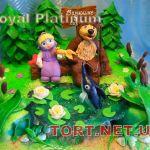 Торт Маша и медведь_6