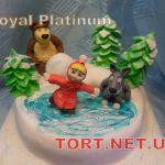 Торт Маша и медведь_7