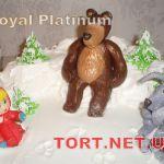 Торт Маша и медведь_8
