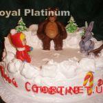 Торт Маша и медведь_9