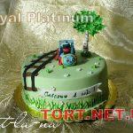 Торт Паровозик из Ромашково_1