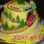 Торт Паровозик из Ромашково_4