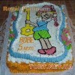 Торт Буратино (Пиноккио)_2