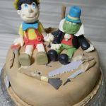 Торт Буратино (Пиноккио)_5