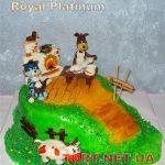 Торт Трое из Простоквашино_4