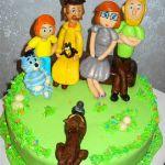 Торт Трое из Простоквашино_6