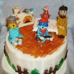Торт Трое из Простоквашино_7