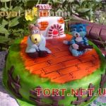 Торт Трое из Простоквашино_8