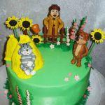 Торт Трое из Простоквашино_9