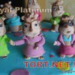 Торт Элвин и бурундуки_1