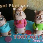 Торт Элвин и бурундуки_2