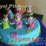 Торт Элвин и бурундуки_3