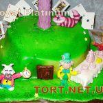 Торт Алиса в стране чудес_4