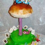 Торт Алиса в стране чудес_5