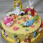 Торт Алиса в стране чудес_8