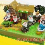 Торт Белоснежка и 7 гномов_1