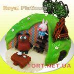 Торт Винни Пух и друзья_11