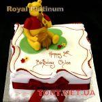Торт Винни Пух и друзья_13