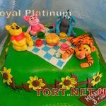 Торт Винни Пух и друзья_1