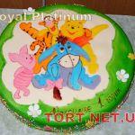 Торт Винни Пух и друзья_22