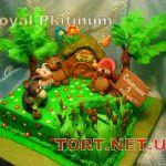 Торт Винни Пух и друзья_2