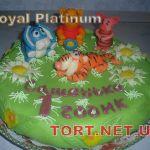 Торт Винни Пух и друзья_3
