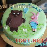 Торт Винни Пух и друзья_7