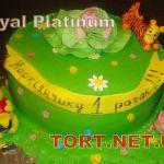 Торт Винни Пух и друзья_9