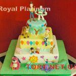 Торт История игрушек_4