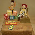 Торт История игрушек_5