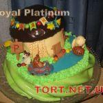 Торт Крокодил Гена и Чебурашка_10