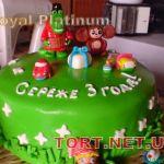 Торт Крокодил Гена и Чебурашка_13
