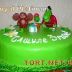 Торт Крокодил Гена и Чебурашка_16