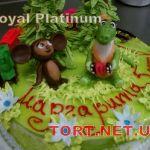 Торт Крокодил Гена и Чебурашка_21