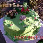 Торт Крокодил Гена и Чебурашка_24