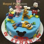 Торт Микки и Минни Маус_21