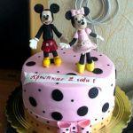 Торт Микки и Минни Маус_2