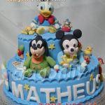 Торт Микки и Минни Маус_30